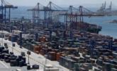Terminal de contenedores del puerto de Valencia.