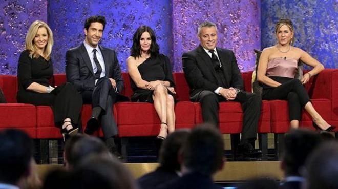 Lisa Kudrow, David Schwimmer, Courteney Cox, Matt LeBlanc y Jennifer...