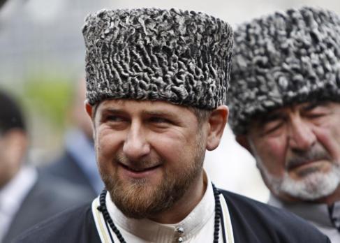 Ramzan Kadirov sonríe durante un acto en Grozny.