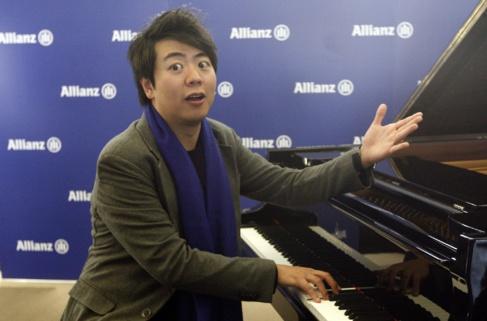 El pianista Lang Lang en Barcelona.