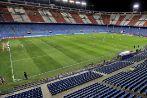 El Atlético-PSV, sin público, jugado en 2008 en el Calderón.