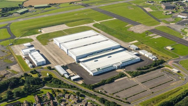 Dependencias futura fábrica Aston Martin