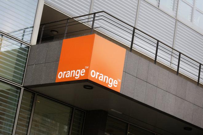 Logo de la compañía de telecomunicaciones Orange