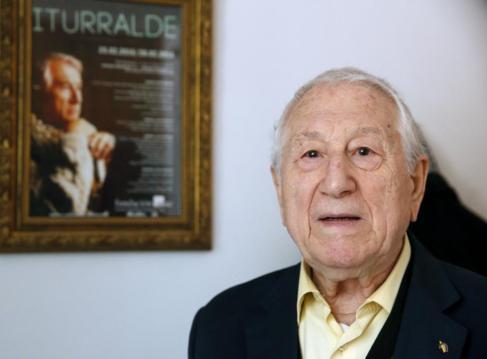 Pedro Iturralde, compositor, saxofonista, profesor de música y...