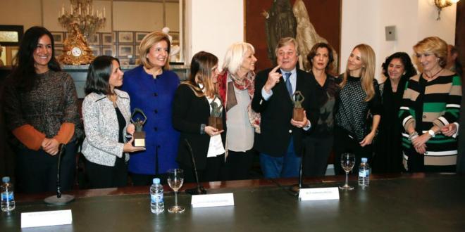 Algunos de los asistentes al acto de entrega de los Premios Libertad...
