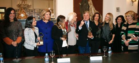 Algunos de los asistentes al acto de entrega de los Premios Libertad.