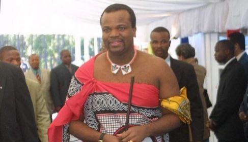 El monarca de Swazilandia, Mswati III.