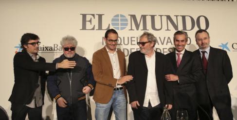 Luis Martínez, Pedro Almodóvar, David Jiménez, Miquel Navarro,...