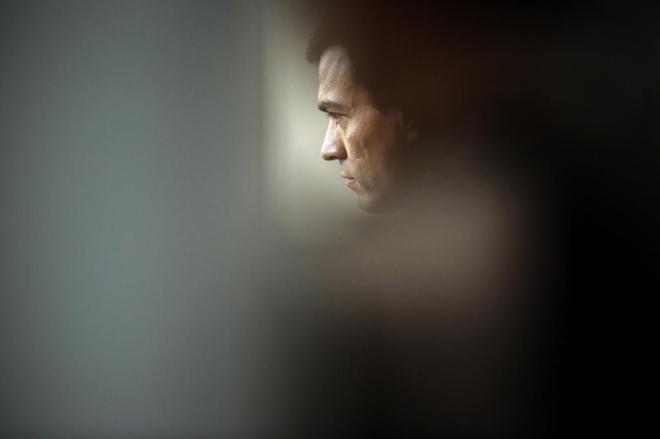 Pedro Sánchez, el pasado 2 de febrero, tras su reunión con el Rey en...