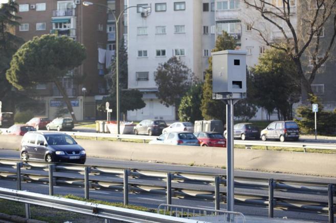 El nuevo radar del Paseo Santa María de la Cabeza multará a partir...