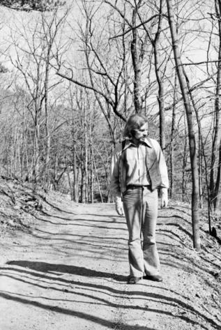 Van Morrison, en Woodstock, en 1969.