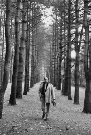 Philip Roth, en Connecticut, en 1968.