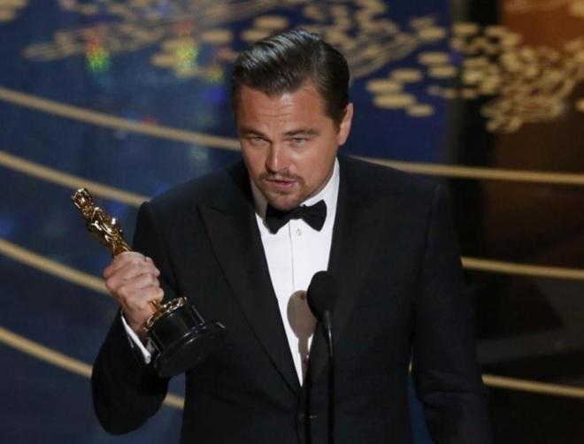 Leonardo DiCaprio gana su primer Oscar como mejor actor
