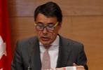 El entonces presidente de la Comunidad de Madrid, Ignacio González,...