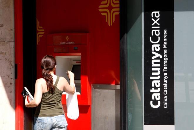 Oficina de Caixa Catalunya en la Gran Vía de Barcelona
