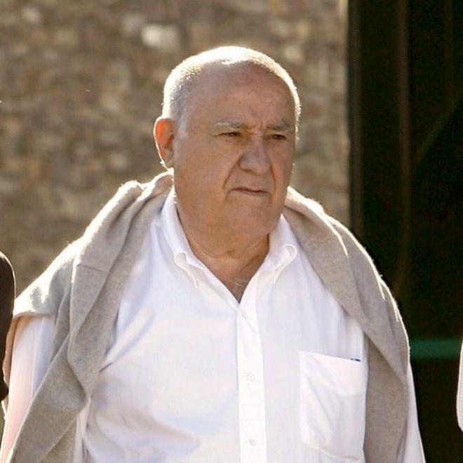 Amancio Ortega, cofundador del grupo Inditex (Zara)