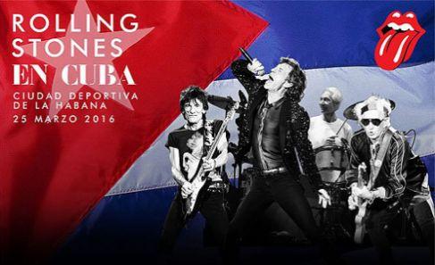 Cartel oficial de los Rolling Stones