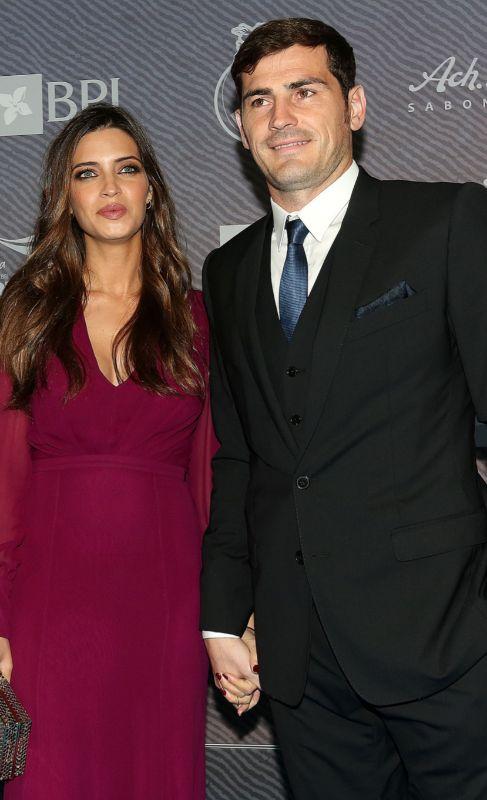<strong>Sara Carbonero e Iker Casillas</strong>. El beso de Iker...