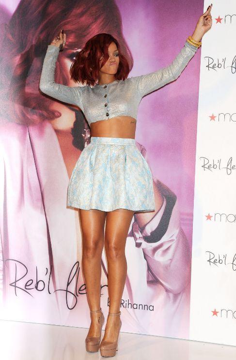 <strong>Rihanna.</strong> Que no te guste el gimnasio no significa que...