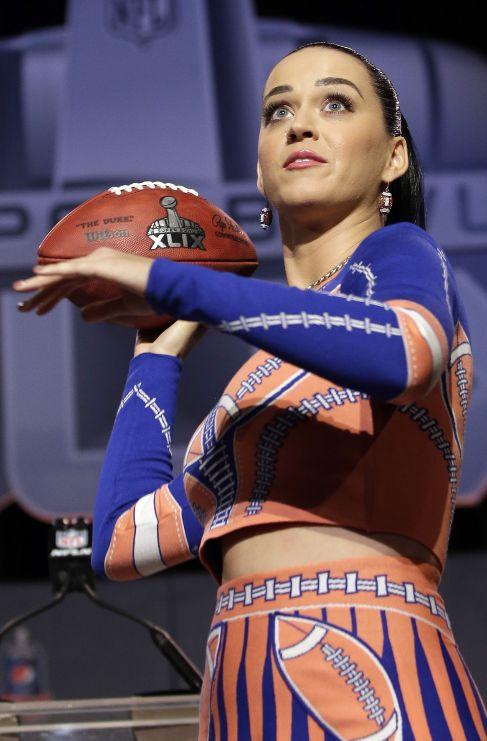 <strong>Katy Perry.</strong> Si tenemos que buscar un deporte que le...