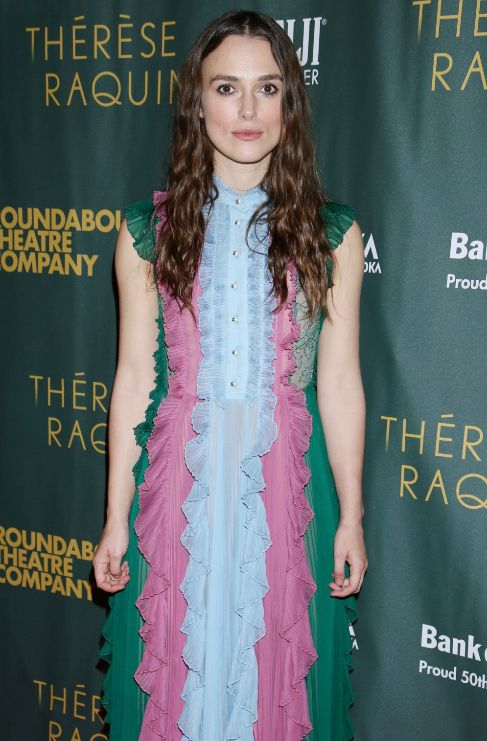 <strong>Keira Knightly</strong>. Dice la actriz Keira Knightly (30)...