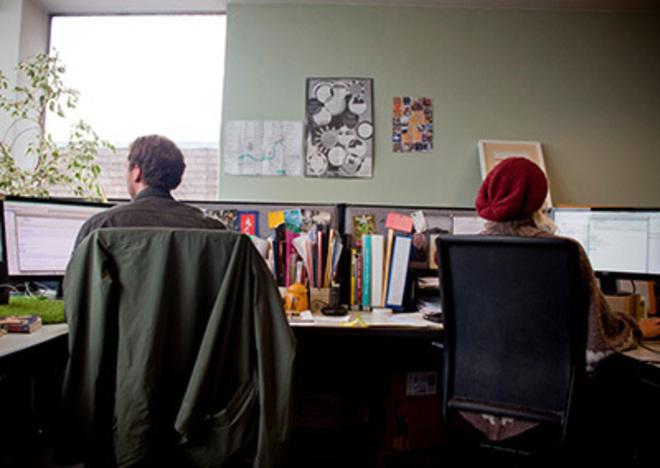 Imagen del espacio de co-working de Hamilton House