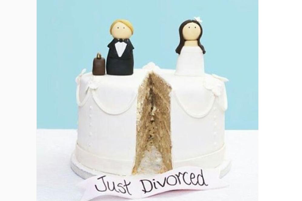 La tendencia 'foodie' de comenzar los divorcios con una tarta a la...