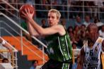 Joventut de Badalona: ACB en 1998-2000. Con el pelo dorado como...