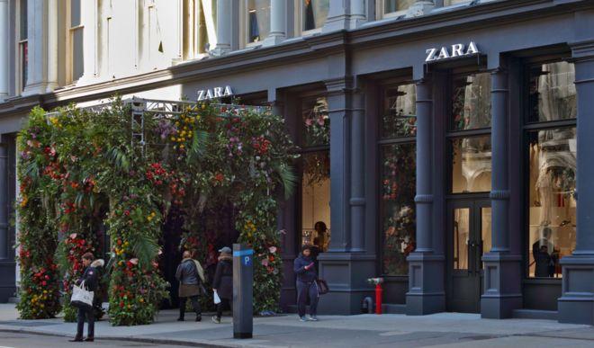 Zara lleva la primavera al SoHo al abrir su octava tienda en Nueva ... 56220c8838373