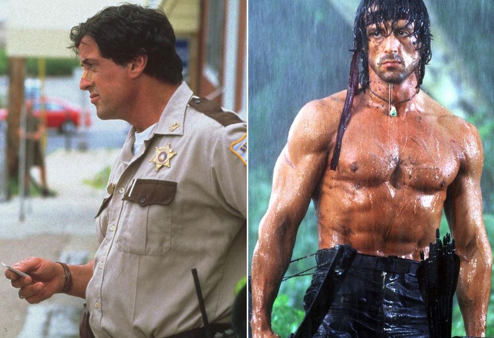 <strong>Sylvester Stallone en Cop Land (1997).</strong> En 1997, la...