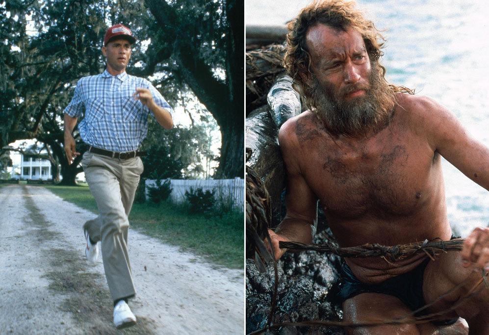 <strong>Tom Hanks en Náufrago (2000).</strong> El protagonista de...
