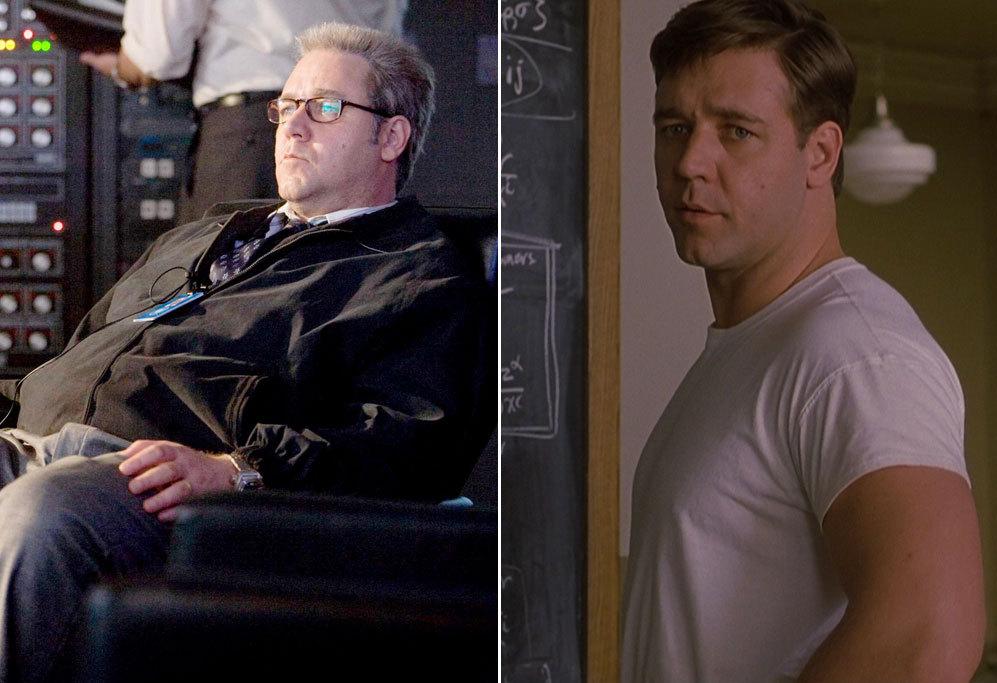 <strong>Russell Crowe en Red de Mentiras (2008).</strong> El actor...
