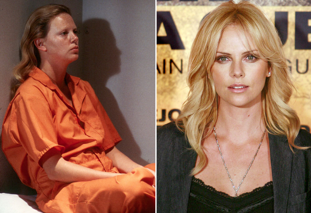 <strong>Charlize Theron en Monster (2003).</strong> La ex modelo...