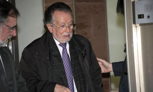 Alfonso Grau, a su salida del juzgado de Palma.