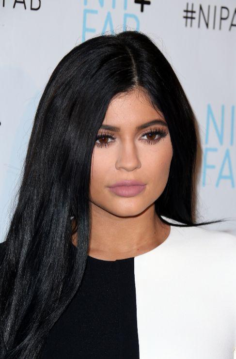 <strong>Kylie Jenner</strong>. Los labios de la hermanastra pequeña...