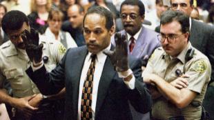 O.J. Simpson, durante el juicio por el asesinato de su mujer.