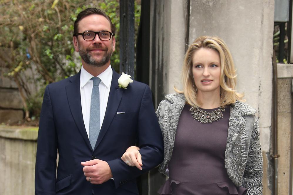 James Murdoch, hijo de Rupert Murdoch, y Kathryn Hufschmid a la...