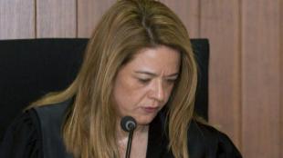 La magistrada Samantha Romero.