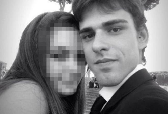 La víctima, Luca Varani, en una imagen que colgó en Facebook.