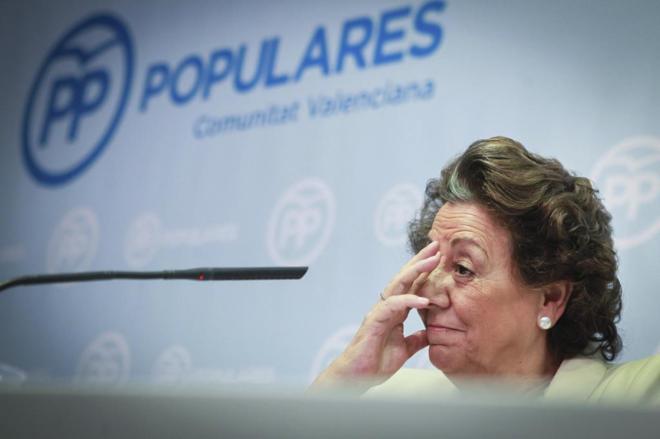 Rita Barberá, ex alcaldesa de Valencia, comparece sobre el 'caso...