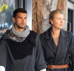 Grigor Dimitrov y Maria Sharapova, cuando eran felices.