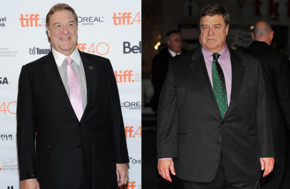 John Goodman. El actor, de 63 años, ha tenido que cambiar de aspecto...