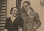 La pianista Rosa García Ascot y su marido Jesús Bal y Gay.