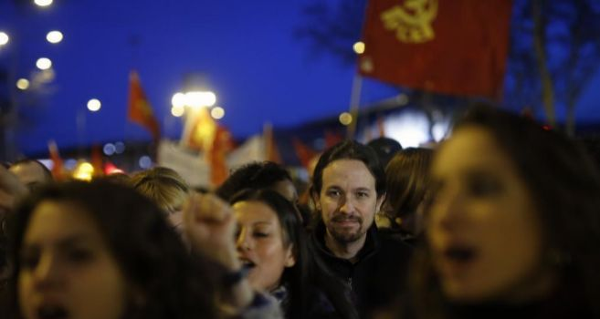 Pablo Iglesias, en la Manifestación por el Día Internacional de la...