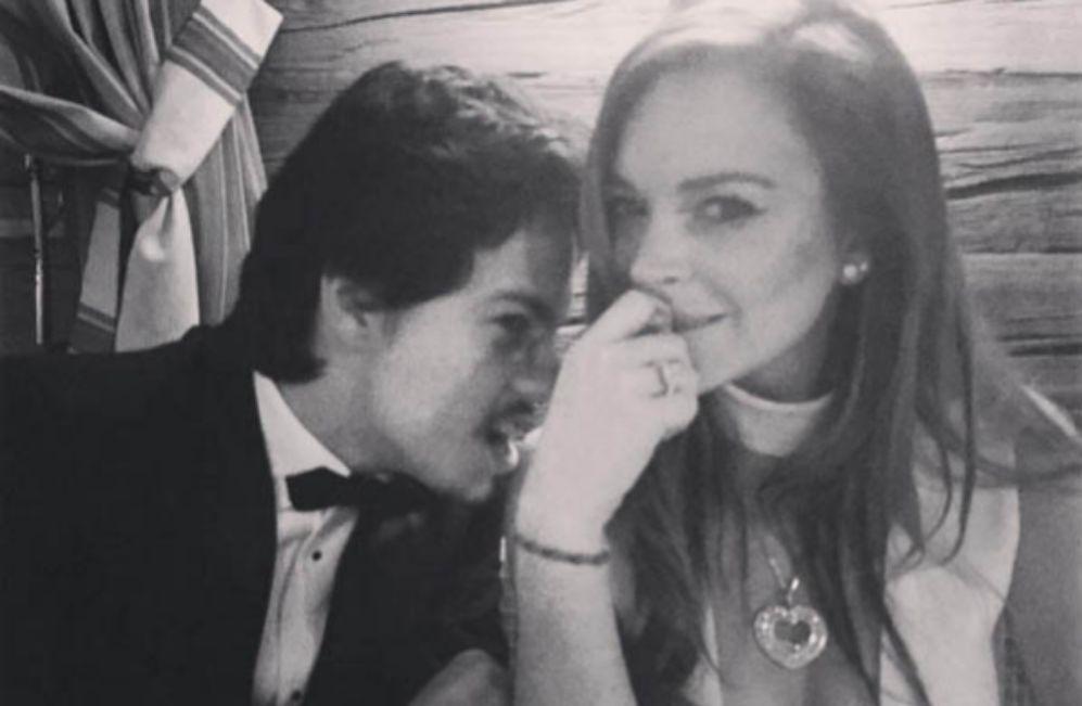 Lindsay Lohan por fin anuncia su relación con Egor Tarabasov, el...