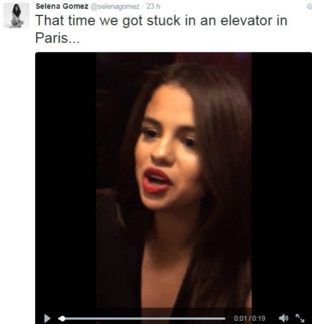 Lejos de sentirse avergonzada, a Selena Gómez le hizo tanta gracia su...