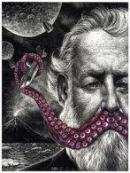 Ilustración realizada a cuatro manos por Ricardo Martínez y Julio...