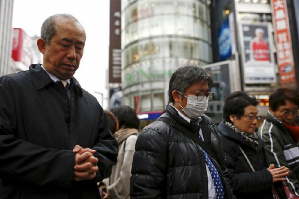 Tokio y decenas de ciudades del país han quedado paralizadas a la...