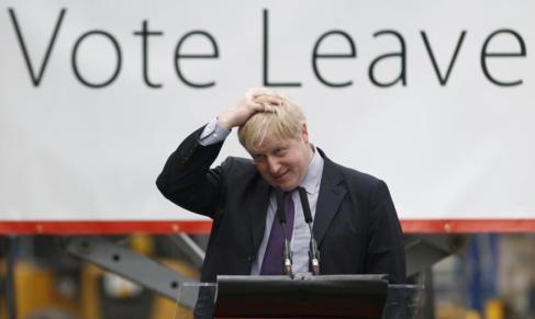 El alcalde de Londres, Boris Johnson, en Dartford (Londres).