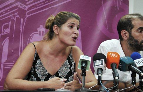 La ex edil de Podemos, Mónica González